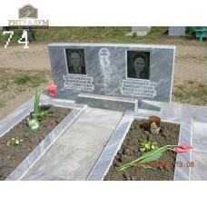 Памятник из мрамора 74 — ritualum.ru